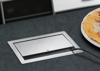 flip top push w kuchni