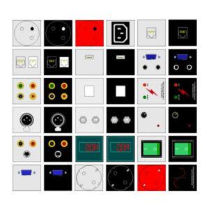 Magnat Box DUO - dowolny zestaw gniazd