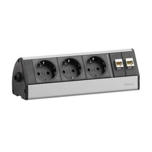 Evoline DOCK Desk 3x230V + 2xRJ45