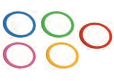 kolorowe pierścienie pix