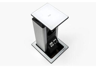evoline port push pokrywa szklana