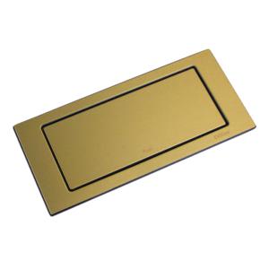 backflip szczotkowane stare złoto